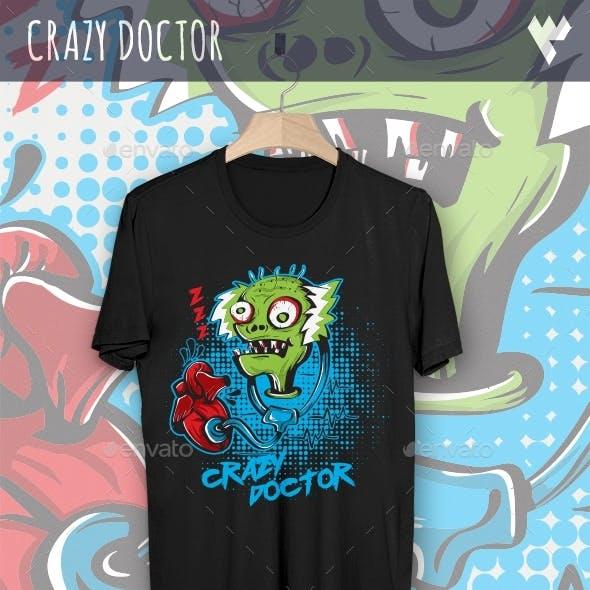 Crazy Doctor Zombie
