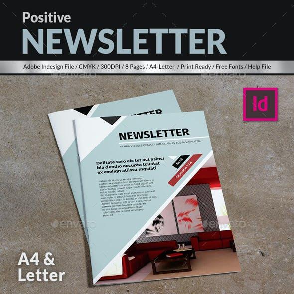 Positive Newsletter Template