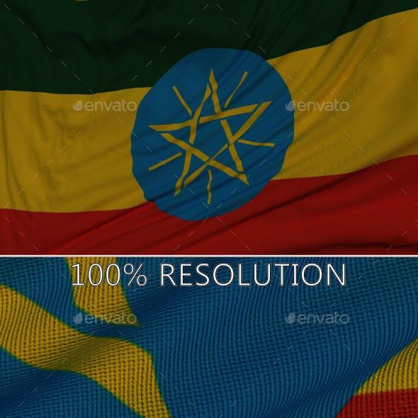 Background Flag of Ethiopia