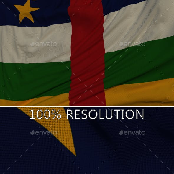 Background Flag of The Central African Republic