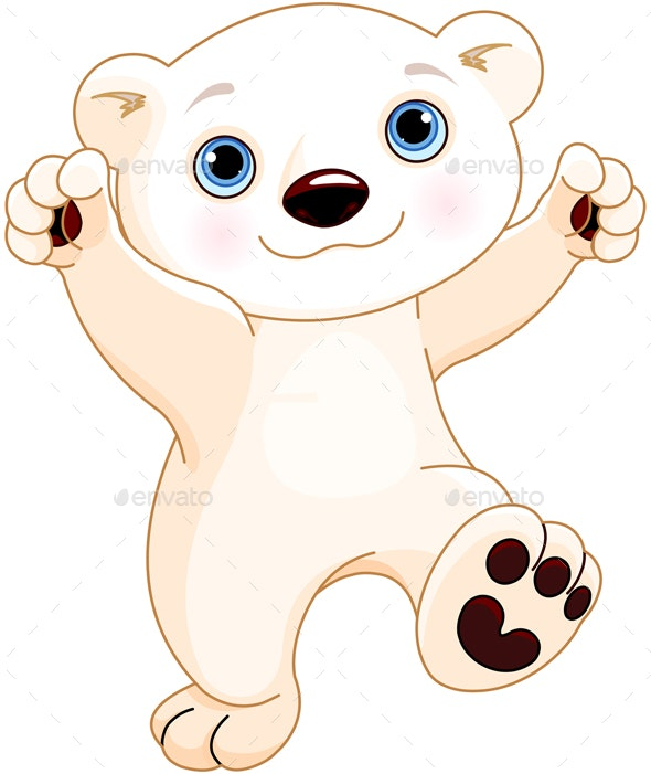 Dancing Polar Bear - Animals Characters