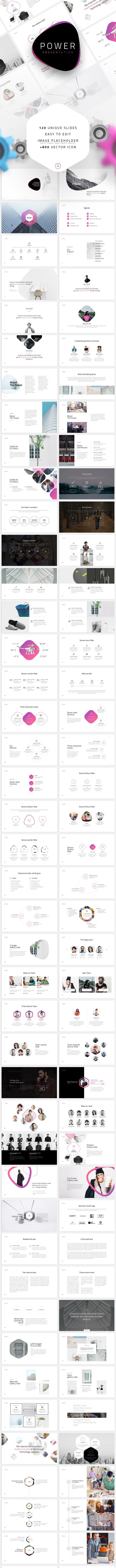 Power-Minimal Keynote Template - Business Keynote Templates
