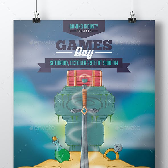 Game Night Flyer Template