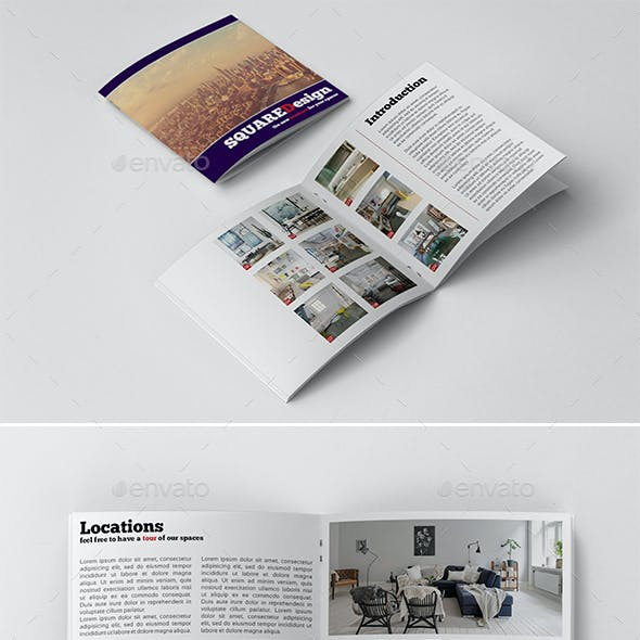 Square Design Booklet