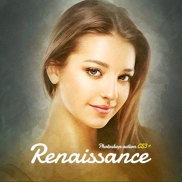 Renaissance CS3+ Photoshop Action