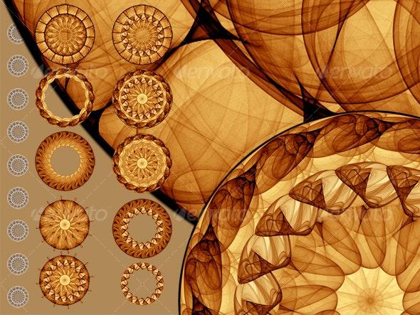 Mandalas - Decorative Symbols Decorative