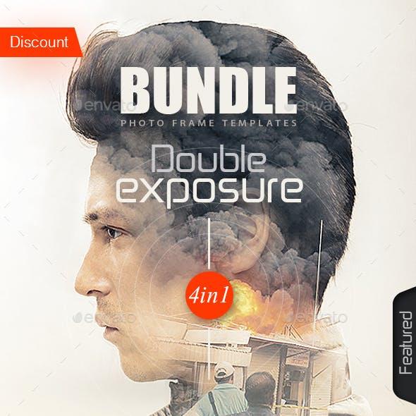 Double Exposure Template Bundle