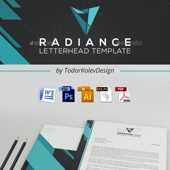 Radiance Letterhead