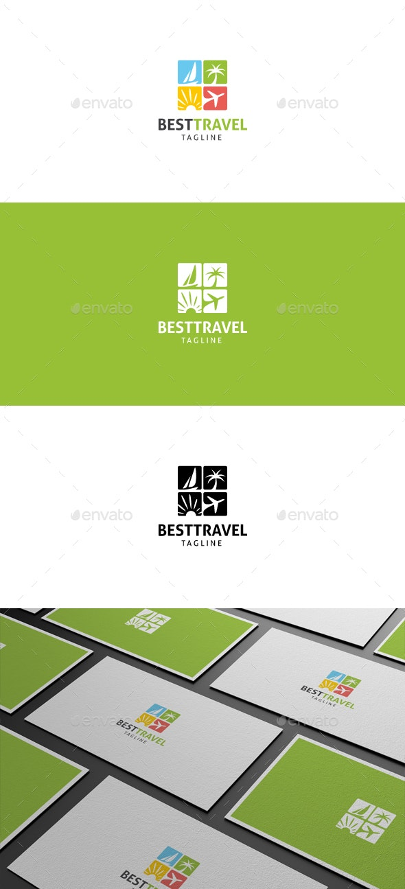 Best Travel Logo - Objects Logo Templates