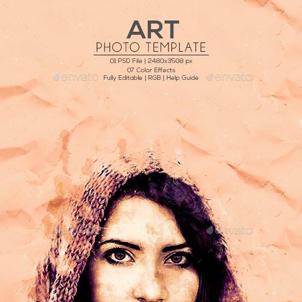 Art Photo Template V.4