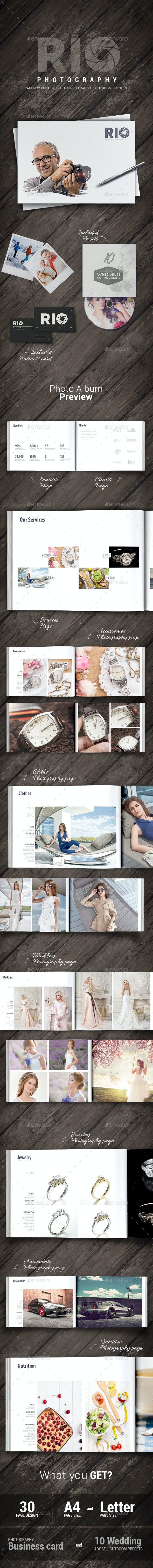 Rio Photography - Portfolio Album - Photo Albums Print Templates