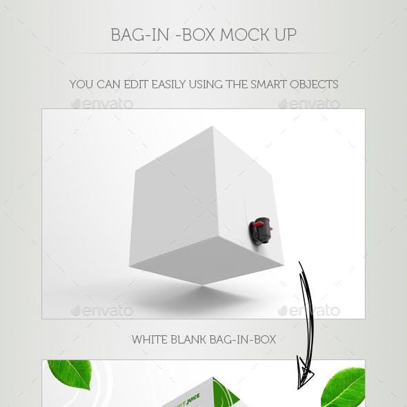 Bag-In-Box Mock Up