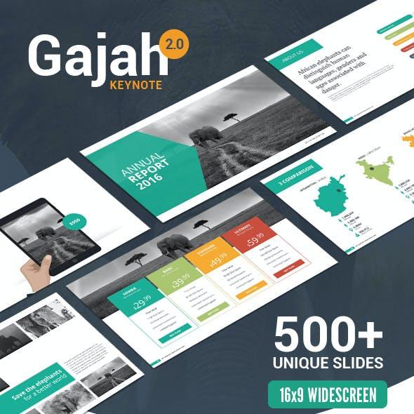 Gajah | Keynote Template