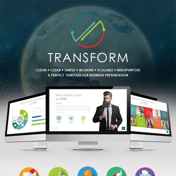 TRANSFORM - Multipurpose Powerpoint Template