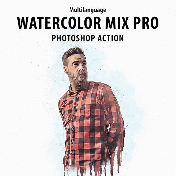 Watercolor Mix Pro