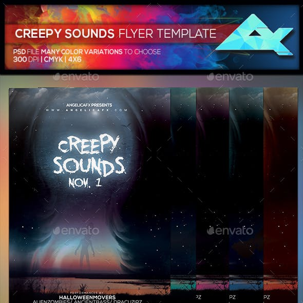 Creepy Music Graphics, Designs & Templates from GraphicRiver