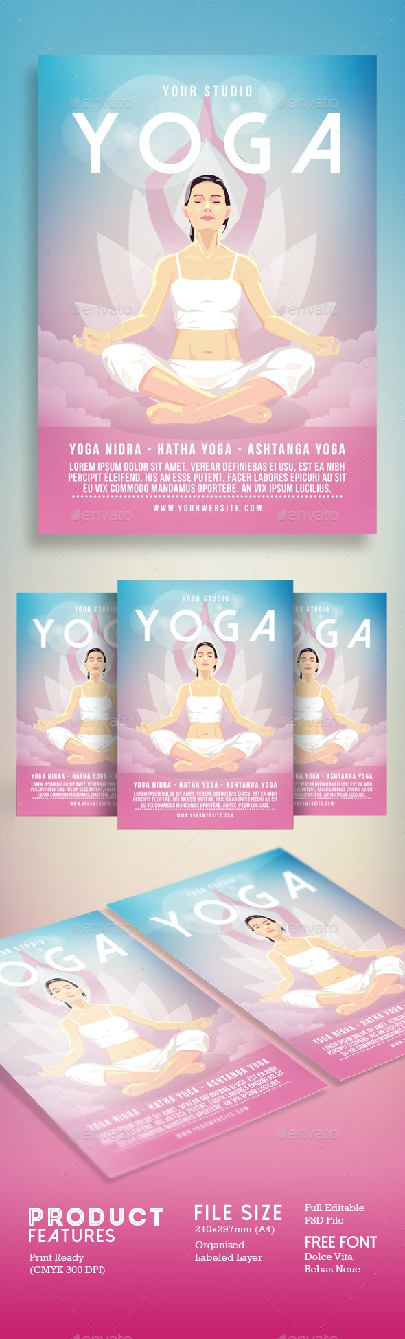 Yoga Flyer Poster - Events Flyers