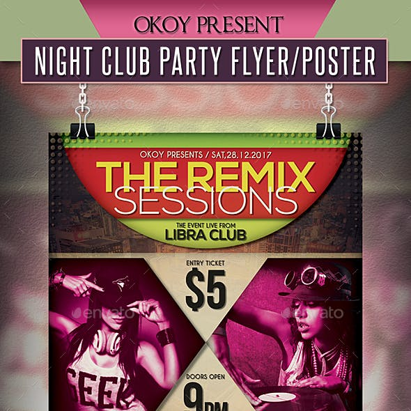 Night Club Party Flyer / Poster