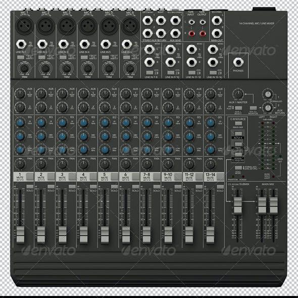 Sound Mixer Renders Set