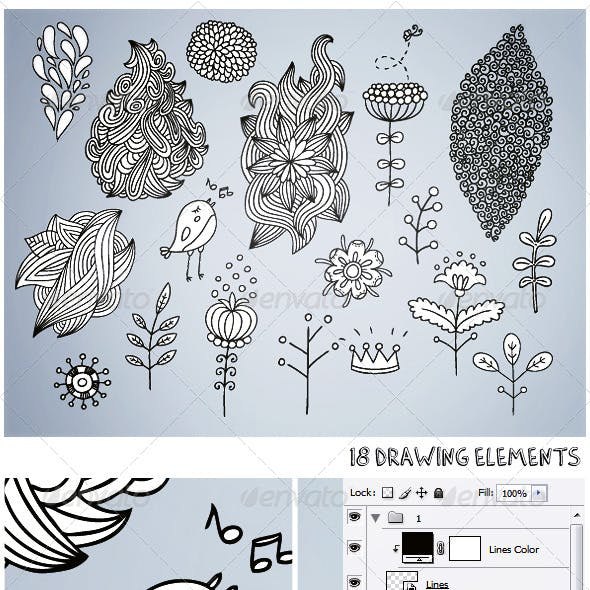18 Drawing Elements