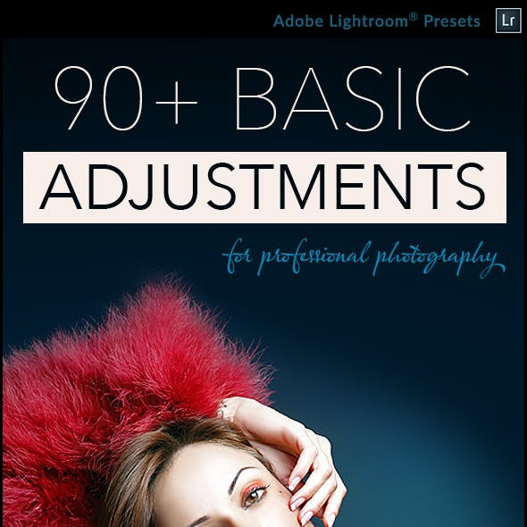 90 Basic Adjustment - Professional Adobe Lightroom Presets