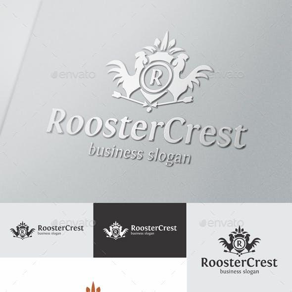 Rooster Crest Elegant Logo Template