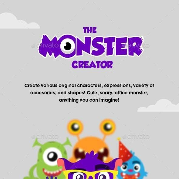 Monsters Characters Creator Kit