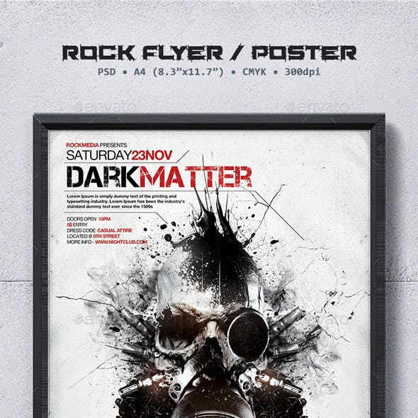 Rock Flyer / Poster Template