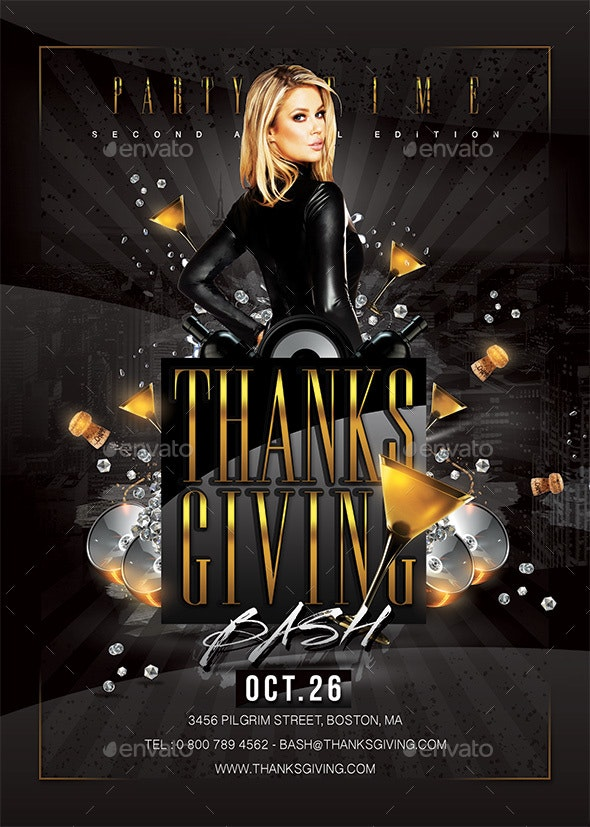 Thanksgiving Party or Other - Clubs & Parties Events