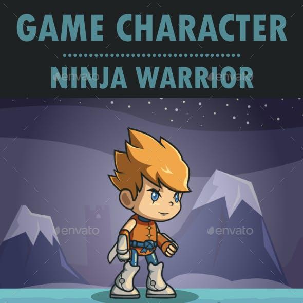Ninja Warrior Sprite Character