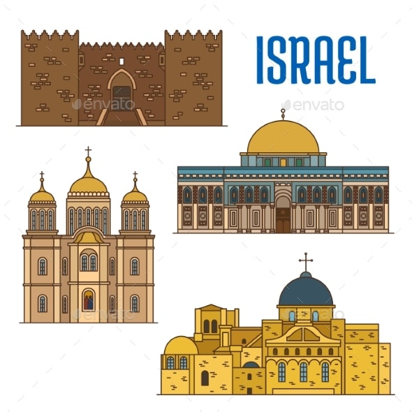 Israel Architecture and Famous Buildings - Buildings Objects