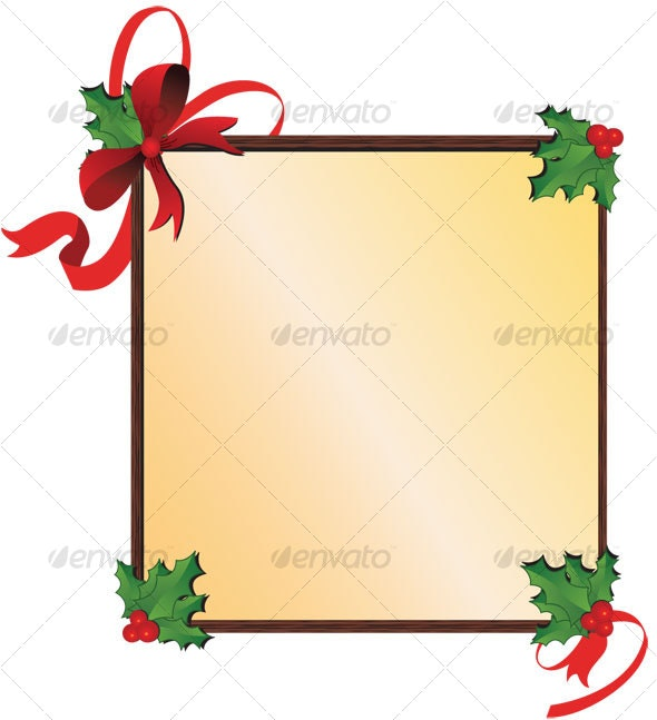 Christmas Banner - Decorative Symbols Decorative