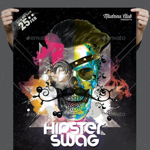 Hipster Swag Poster / Flyer