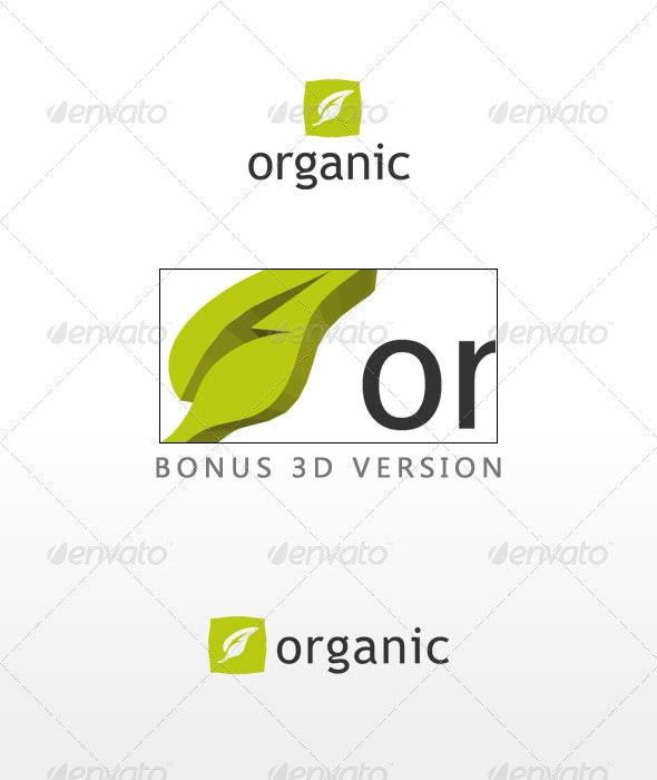 Organic - Nature Logo Templates