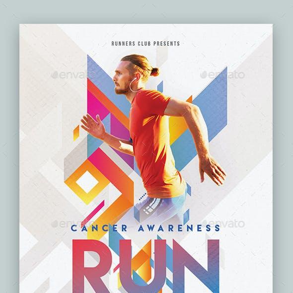 Run Festival Flyer