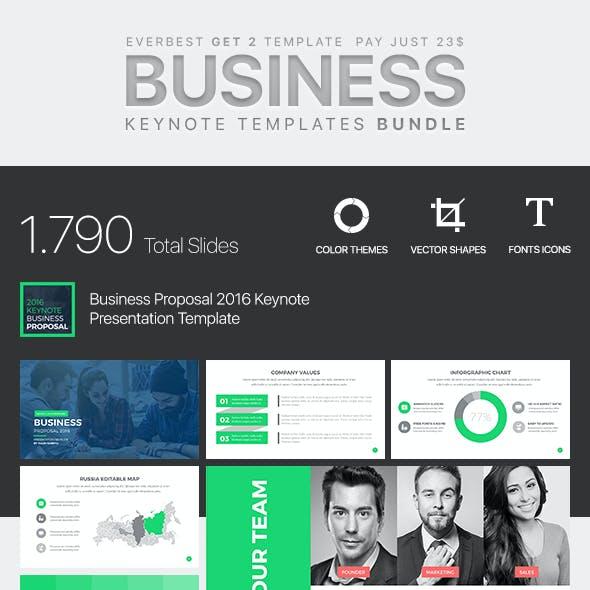 Business Bundle Keynote Template 2 in 1