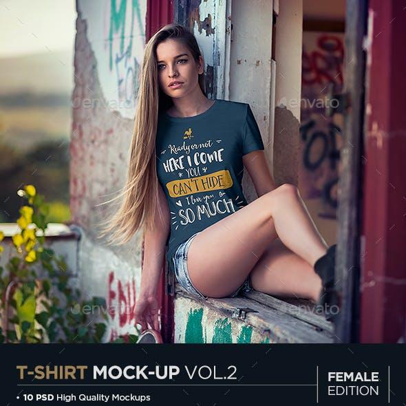 T-Shirt Mock-Up Vol.2