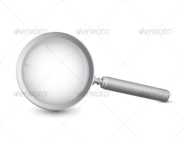 Magnifying glass - Objects Vectors
