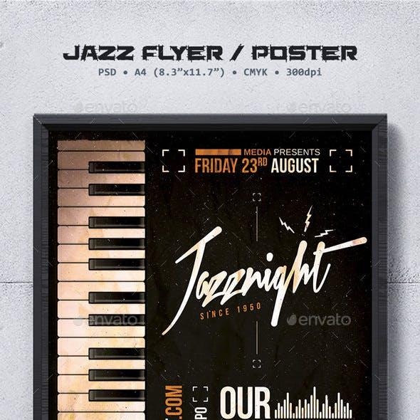 Jazz Flyer / Poster Template