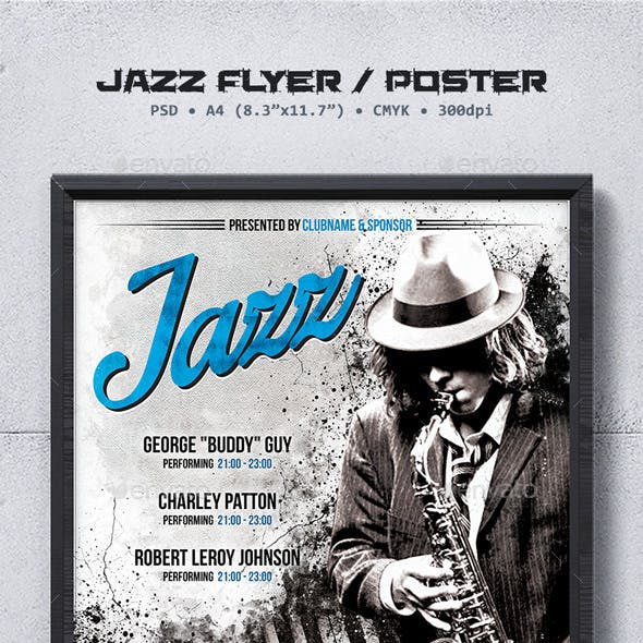 Jazz Flyer / Poster Template