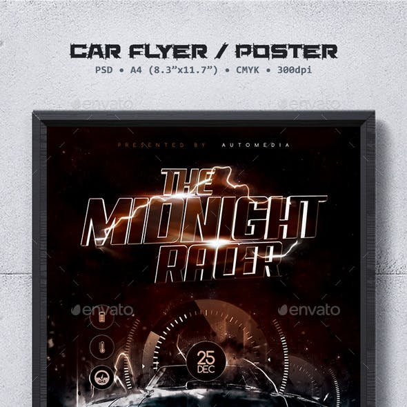 Car Show Flyer / Poster Template