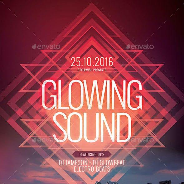 Glowing Sound Flyer
