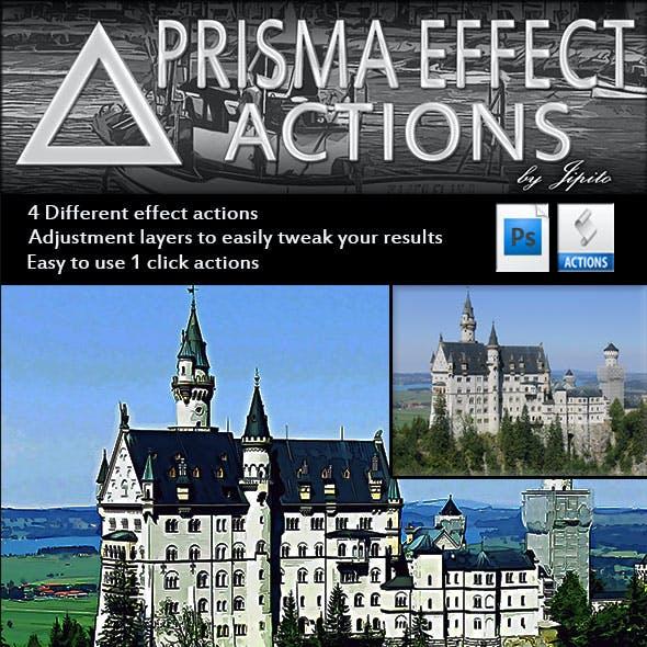 Prisma Effect Actions