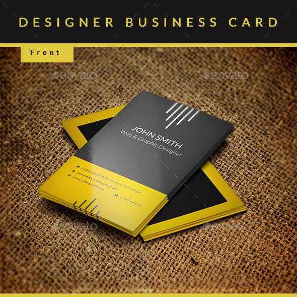 Designer Business Card