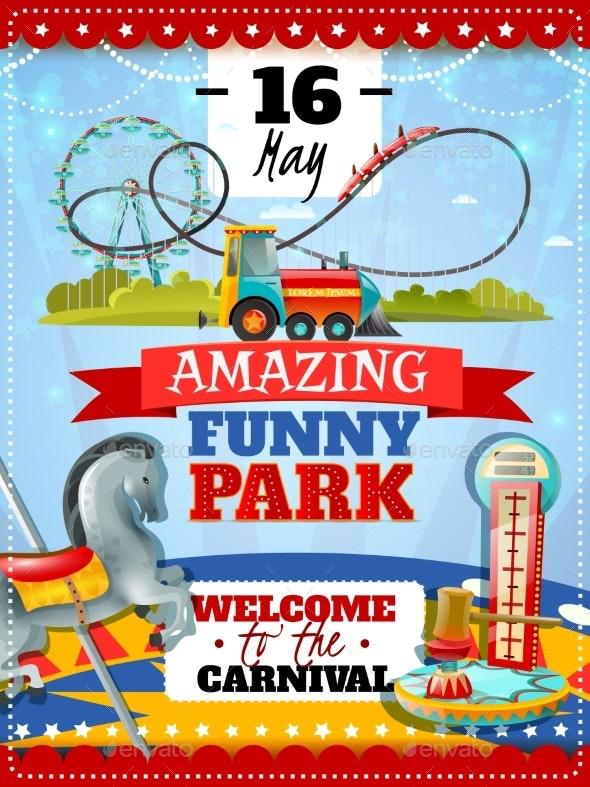 Amusement Park Poster - Miscellaneous Seasons/Holidays