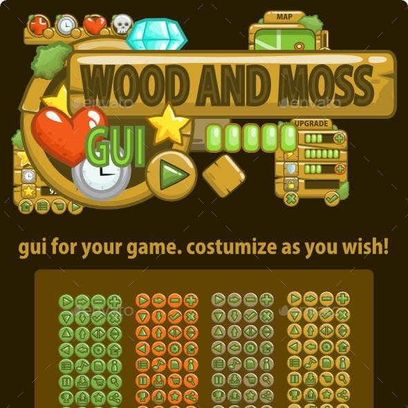Wood and Moss GUI