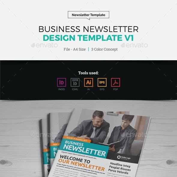 Newsletter Design Template