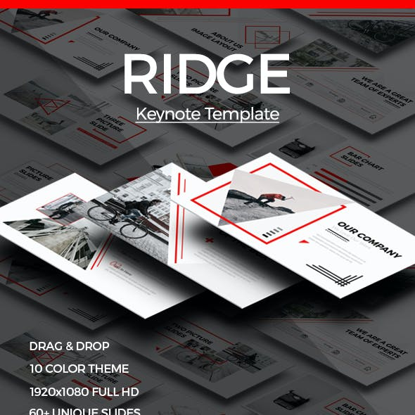 RIDGE - CREATIVE Keynote Template