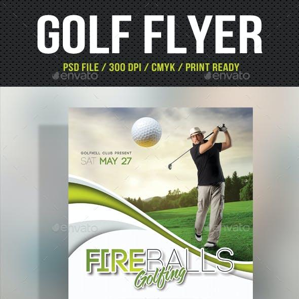 Golf Flyer Template 07
