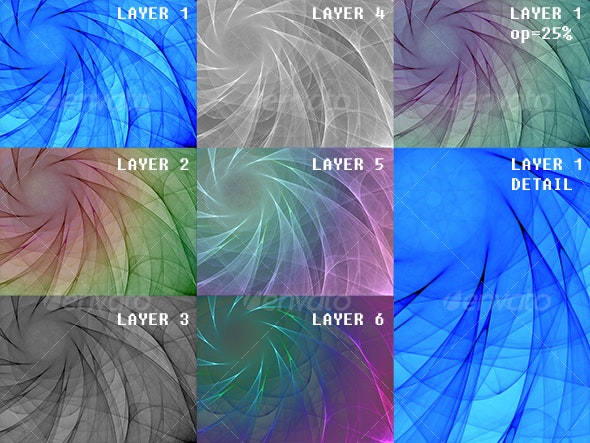 Whirlpool Diamond - Abstract Backgrounds